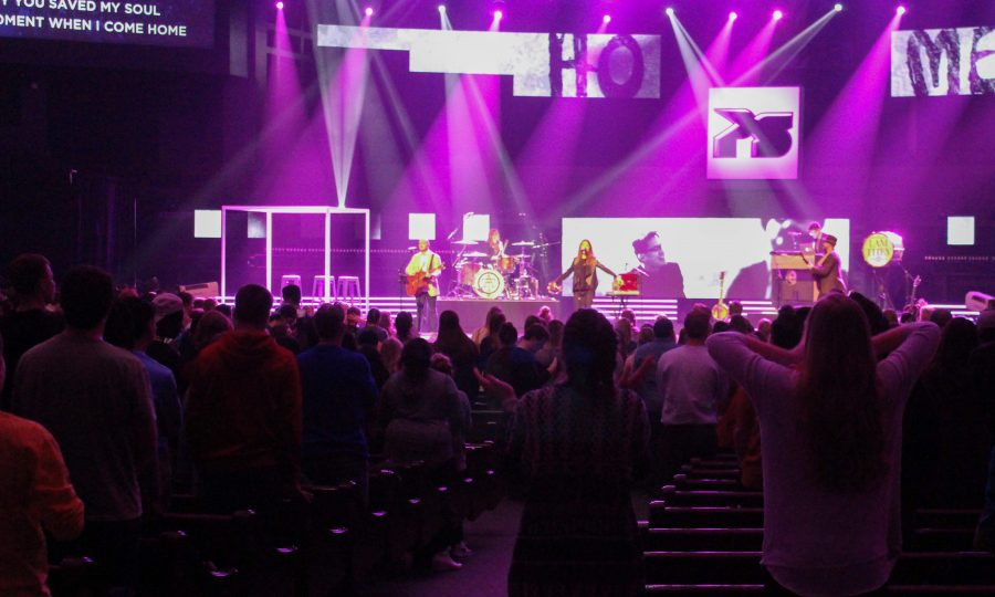 I+Am+They+moves+students+during+worship+on+Freedom+Weekend.