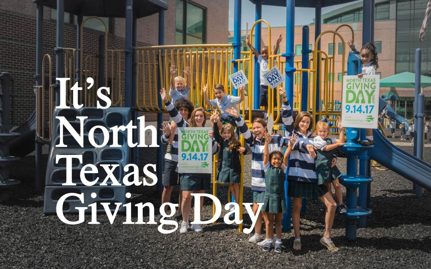 North Texas Giving Day benefits students of all ages. The School hopes to beat the $327,000 raised last year.