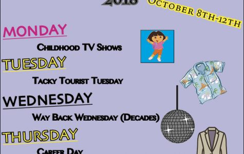 Plan Ahead for Homecoming 2018 Dress-up Days!