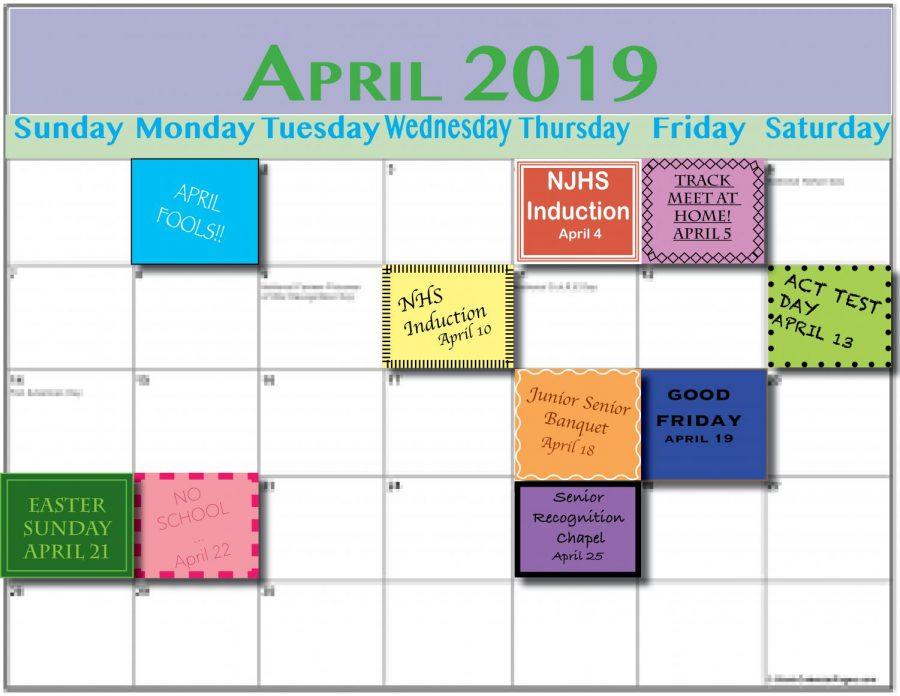 April Calendar