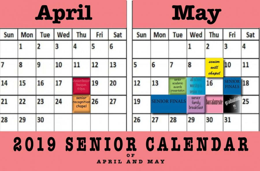 April/May Calendars