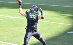 PCA Alumni Riley Wilson, Wide Receiver for the University of Hawaii  plays in the New Mexico Bowl on December 24, 2020.
